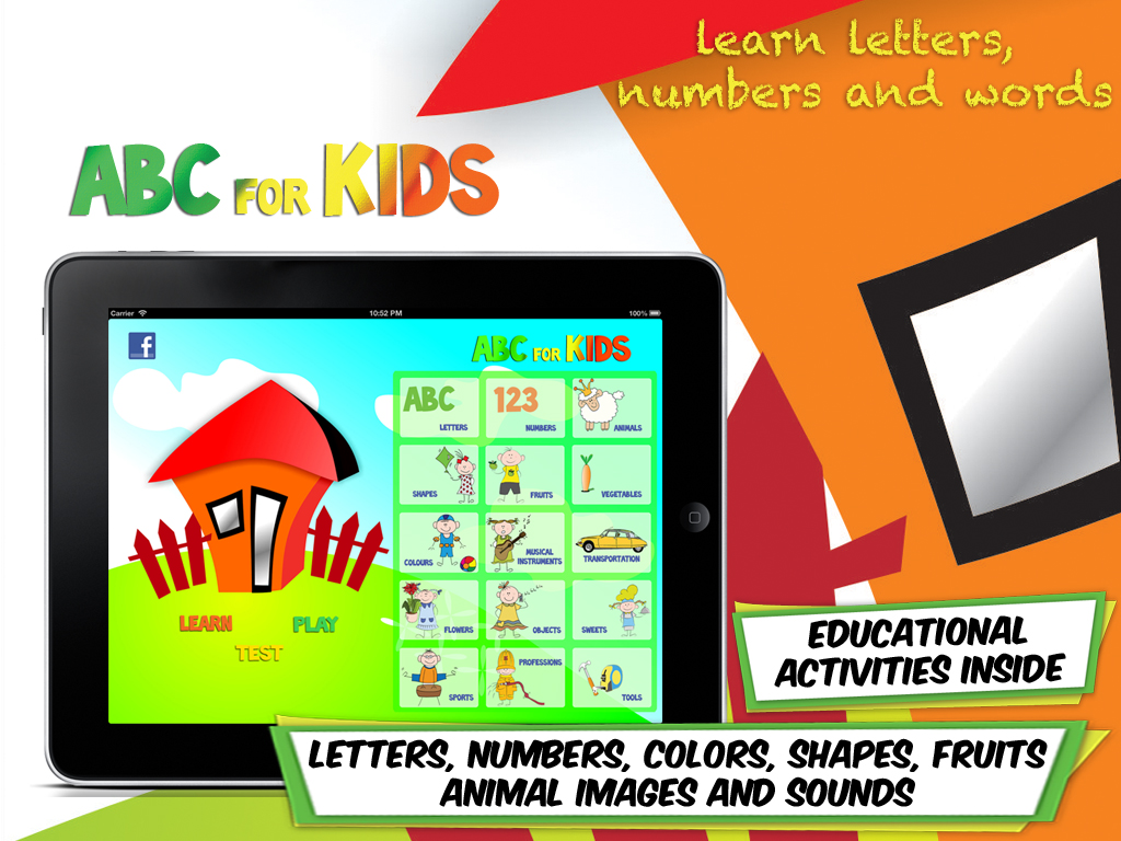 abc for kids iPad