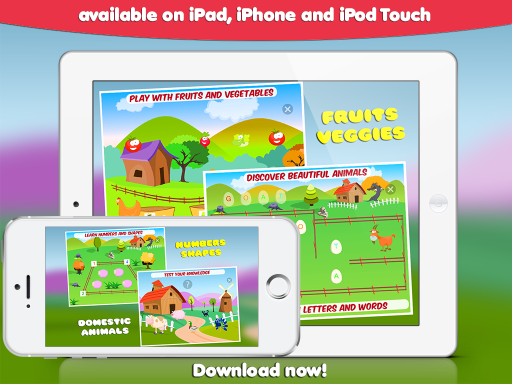 available for iPhone, iPad, iPod touch